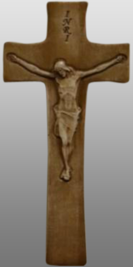 Krzyż płaskorzeźba